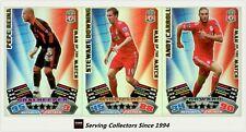 2011-12 Match Attax EPL Soccer Man Of Match Foil Card Team Set (3)-Liverpool