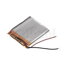 343948, Internal Lithium Polymer Battery 3.7V 600mAh 34x39x48mm