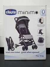 Chicco Mini.Mo Stroller - Black Night -  Lightweight Compact Pushchair