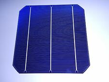 single 6x6 VERY HIGH EFFICIENCY  MONO  SOLAR CELLS over 8 amps each