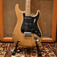 Vintage 1977 Fender Stratocaster Refin Natural Maple Electric Guitar 7.3lbs