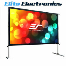 """ELITE SCREENS OMS120H2 120"""" YARD MASTER 2 16:9 FOLDABLE OUTDOOR MOVIE PROJECTOR"""