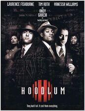 HOODLUM -1997- Original Press Kit w/ 11 photos - ANDY GARCIA, LAURENCE FISHBURNE