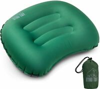 Ryno Tuff Inflatable Camping Pillow - Ultralight Travel Pillow with Knitted Fabr