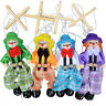 25Cm Hand Finger Puppets Clown Toy Joint Activity Doll Vintage Funny Class To FE
