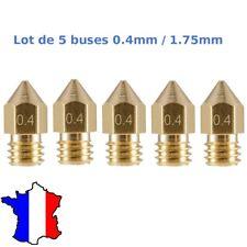 Anet A8 MK8 buse Anet A6 Anet A8 buse Alfawise U20 buse Id/éal reprap Lot de 2 buses laiton diam/ètre 0.2mm filament diam/ètre 1.75mm pour extrudeur type MK7 // MK8 // MK9 prusa I3