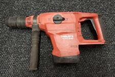Hilti Te 60 A36 Cordless Concrete Hammer Drill Sds Max 36 Volt Bosch Dewalt