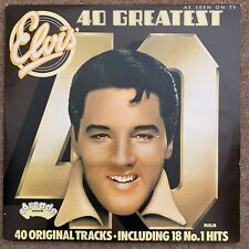 Elvis Presley 40 Greatest Double LP