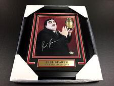 PAUL BEARER WWE WWF FRAMED 8x10 SIGNED PHOTO AUTOGRAPHED SIGNATURE