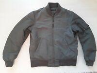 mens uniqlo khaki bomber jacket size medium  bnwot