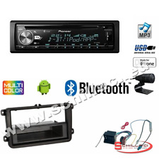 Pioneer DEH-X5900BT autoradio CD/USB + Kit montaggio per VW Golf / Polo / Passat