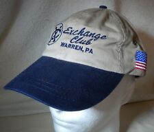 National Exchange Club Warren PA Cap Adjustable Hat Prevention of Child Abuse