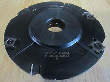 Edessö / Flury Verstellnuter 160 x 4,0 - 15,5 x 30 mm Z. 6 + V. 4 Neu Nutfräser
