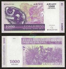 MADAGASCAR 1,000 1000 Ariary, 2004, P-89, UNC