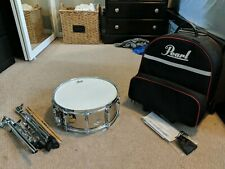 Pearl Steel Shell Snare Drum (Complete Set 2016)