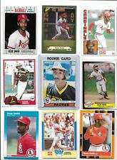 Ozzie Smith Cardinals Lot of (45) Different w/ 1979 Topps Rookie #116 HOF BV$105