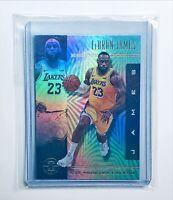 2020 Panini Illusions LEBRON JAMES REFRACTOR Los Angeles Lakers Basketball!🔥📈