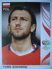 Fußball Panini 69 Miroslaw Szymkowiak Polen Polska FIFA WM 2006 Germany
