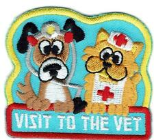 Girl Boy VISIT TO THE VETERINARIAN VET Tour Patches Crest Badge SCOUT GUIDE Cub