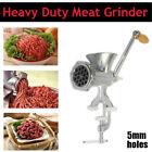 Handcrank Revolving Handle Meat Grinder Mincer Stuffer Sausage Filler Maker New photo