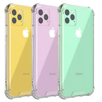 For iPhone 11/ 11 Pro/11 Pro Max Crystal Clear Case Shockproof Transparent Cover