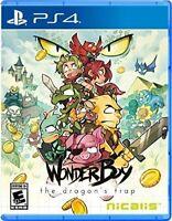 Wonder Boy The Dragon's Trap Playstation 4, PS4 Brand New