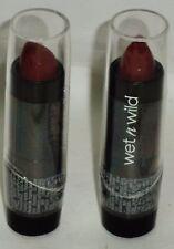 2 Wet n Wild Lipstick Lip Color Great Vibrant Color DARK WINE 536A Sealed