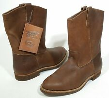 "New RED WING 1177 (now 1178) 11"" Western Pull On Work Boots - Size 9 EEE SR $260"