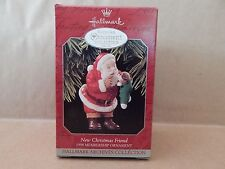 "Hallmark ""New Christmas Friend� Collector's Club Christmas Ornament; 1998"