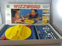 Wizzword Board Game By MB Games incomplete