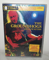 DVD + CD GROUNDHOGS - LIVE AT ASTORIA - NUOVO NEW