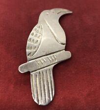 Vintage Sterling Silver Brooch Pin 925 Bird Taxco Mexico