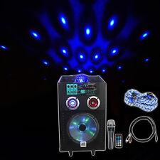 "NYC Acoustics 10"" Karaoke Machine w/ Bluetooth 4 ipad/iphone/Android/Laptop/TV"
