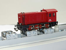 Banco di prova RULLI scala TT Locomotive analogico/digitale (320mm)