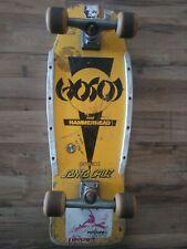"""Hosoi"" Hammer Head Mid  - Original 80s  Rare skate board (Fed Ex)"