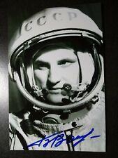 Boris Volynov Authentic Hand Signed Autograph 4X6 Photo - Russian Cosmonaut