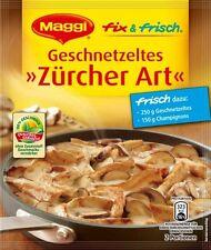 7 x MAGGI FIX  for Geschnetzeltes Züricher Art  NEW from Germany