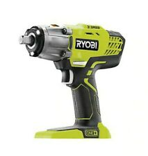 Ryobi One+ 18V Brushed Cordless Impact Wrench R18IW3-0- New & Boxed & Unit Only