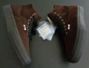 ANDREW ALLEN x VANS Hockey SAMPLE High HI Top Shoes NEW NO BOX Men's 10.5 Brown