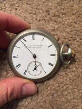 Vintage Antique E Howard & Co Boston Pocket Watch Series 4 Size N Jewel Veritas