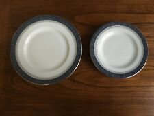 Royal Doulton Sherbrooke Lot of 5 Salad Plates and 5 Bread & Butter Plates Euc