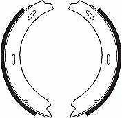 Ferodo FSB196 Brake Accessory Hand Brake Shoes Replace 8806 SHU363 SHU773