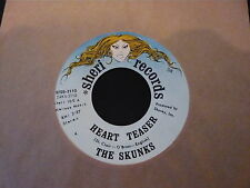 "THE SKUNKS...HEART TEASER...USA GARAGE FUZZ ROCK...MINTY COPY...45RPM 7"" SINGLE"