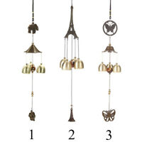 Metal Wind Chimes Tubes Bells Copper Outdoor Yard Garden Home Hanging Pendant