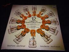 12 CELLISTEN DER BERLINER PHILHARMONIKER Vinyl Schallplatte gewaschen FOC MINT-