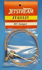 JETSTREAM JT4111J3 - 3 Foot SMA Male to UHF Male HT Jumper Cord w/ RG316U Coax