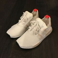 Women's Adidas NMD R1 W Runner Shoes Sneakers G27938 Size 6 White Linen