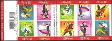 Belgium**DANCE-TANGO-WALTZ-SAMBA-BOOKLET@10vals-MNH-2006-Rock&-Roll-ChaChaCha-NH