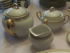 Antique Porcelain M & Z Austria Tea Set, 5 pieces
