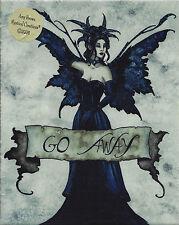 Go Away Amy Brown Fairy Ceramic Sensations Art Wall Tile Plaque faery faerie
